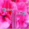 YELD001122 , 18K白色黃金鑽石耳環 Diamond Earring