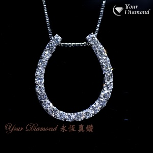 << 日本製 >> YPLD-JP01067548, PT鉑金鑽石吊墜 ( 送PT鉑金項鍊 ) << 附日本證書>>