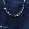 << 日本製 >> YPLD-JP01081331 , PT鉑金鑽石項鍊 << 附日本證書 >>